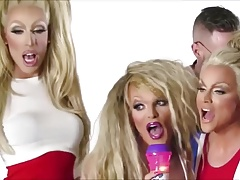 Courtney Act, Willam Belli & Alaska Thunderfuck Modeling