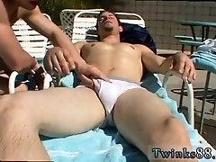 Skinny gay cum licking porn tube