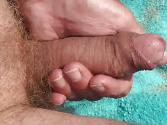 I massage my cock.mp4