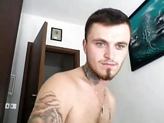 Italian Gorgeous Boy Cums On Cam