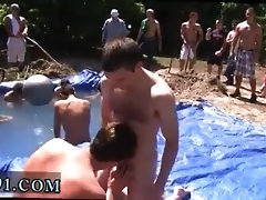 Sucking brothers gay cock as penalty for