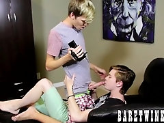 Nico Michaelson and Tyler Thayer have hardcore anal action