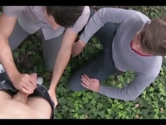 Two Czech Twinks Sex for Mony