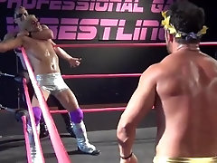 Cheesey but Kinda Awesome Gay Wrestling League - Muscled Baddies vs Twinks