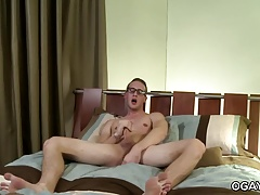 Twink Scotty Blake Masturbates with a Cucumber