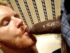 Sucking a dick in a bathroom