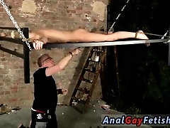 Gay piss poppers bondage porn Blindfolded sub dude Reece has found