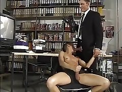 When a sexy man tapes a sexy twink