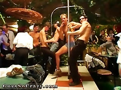 Latino gay sexy teen boys naked party xxx Dancing on pillars as well as
