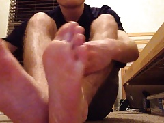 Xandermartin98's Mouthwatering Foot Tease