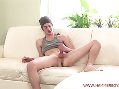 First casting Petr Vaculik huge cum from Hammerboys TV