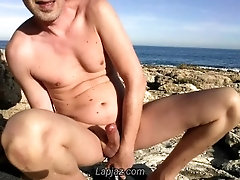 Anal orgasm on lava beach - Lapjaz.com