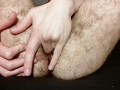 Fingering my ass