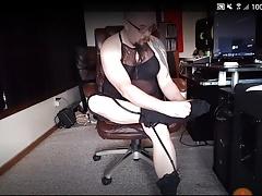 Sissy CD cam show (12-12-17) PT1