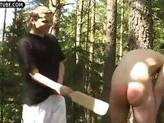Discipline Twink Cum in the Wood