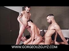 Hot Orgy Blowjob And Bareback