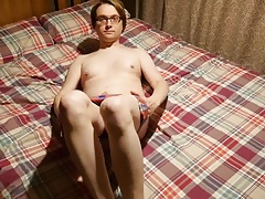 Wanking On The Bed