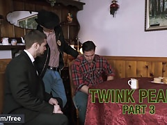 Men.com - Aspen Griffin Barrows Xander Brave - Twink Peaks