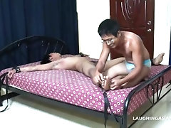Asian Boy Hermis Tied Up and Tickled