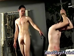 Free full length gay porn bondage Flogged And Face Fucked