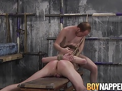 Tristan Crown has kinky bondage sex with Sean Taylor