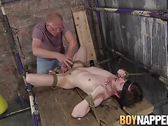Skinny slave Kit Wilde wants to please master Sebastian Kane