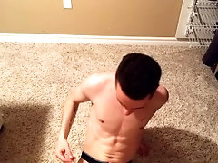 Brutal Slapping My Cock and Balls