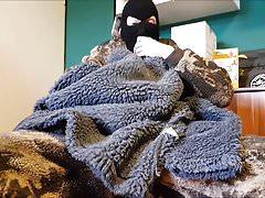 Fucking 4 fleece jackets, berber fleece and cum, cumshot