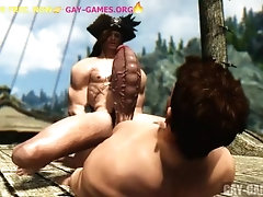Colossal cock in skyrim, 3d videogame
