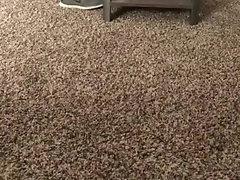 Frat boy humps pillow on a desk
