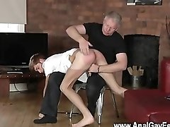 Hot gay sex But after all that beating, the master wants a cum load and