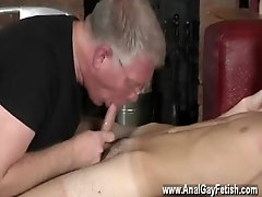 Gay lots of pubic hair But after all that beating, the master wants a