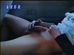 sexy Japanese boy masturbates while driving
