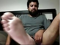 straight guys feet webcam 27