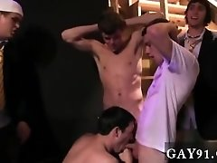 Gay booty nude movies Pledges in saran wrap, bobbing for dildos, and