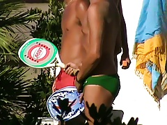 Let's spy next door Italian males in speedos 7q96 (1)